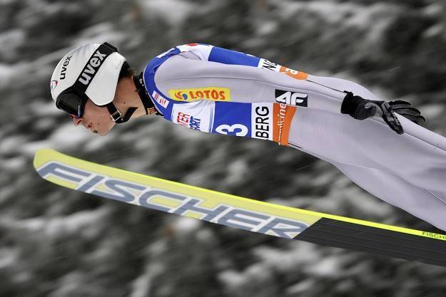 Piotr Żyła skoczył 217 m na mamuciej skoczni w Oberstdorfie
