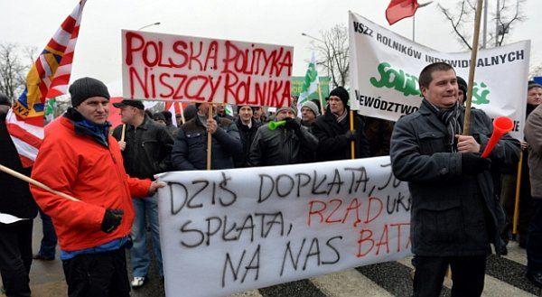 protest-rolnikow